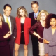 Ally McBeal - Calista Flockhart, Courtney Thorne-Smith, Gil Bellows, Greg Germann, Jane Krakowski & Lisa Nicole Carson