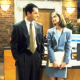 Ally McBeal - Calista Flockhart & Gil Bellows